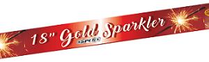 """GOLD SPARKLERS  18"""""""